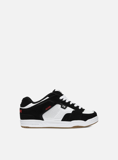 sneakers globe scribe black white red