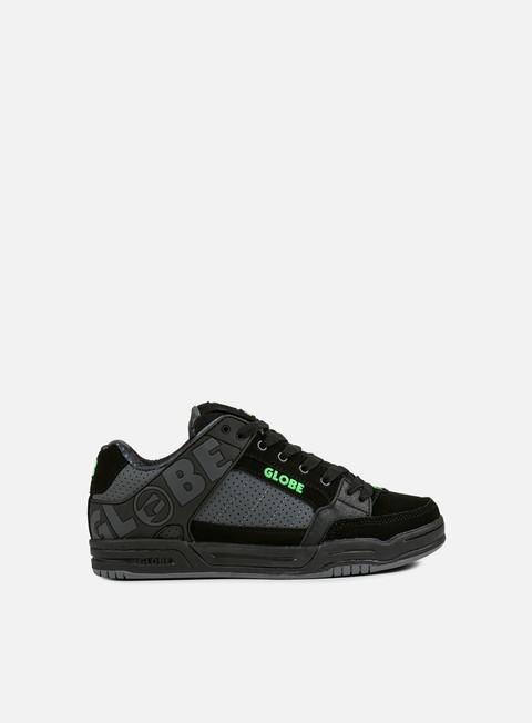 sneakers globe tilt black camo moto green