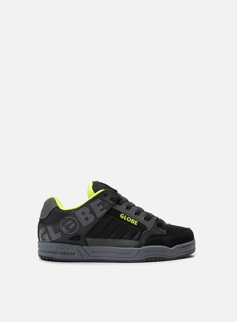 sneakers globe tilt charcoal black lime
