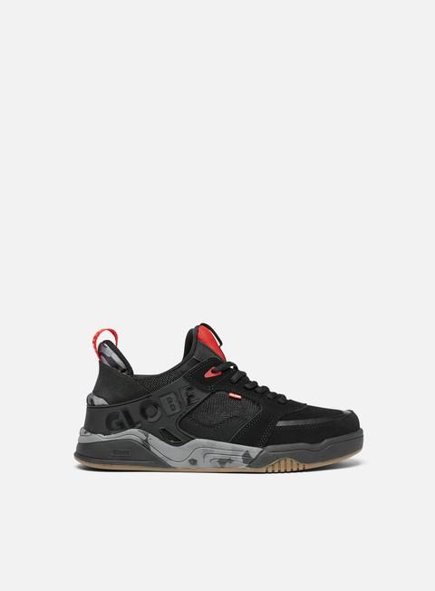 sneakers globe tilt evo black red camo