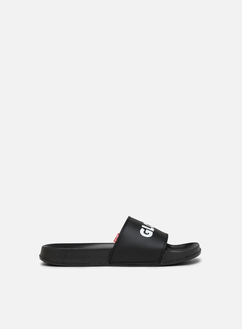 sneakers globe unfazed slide black black