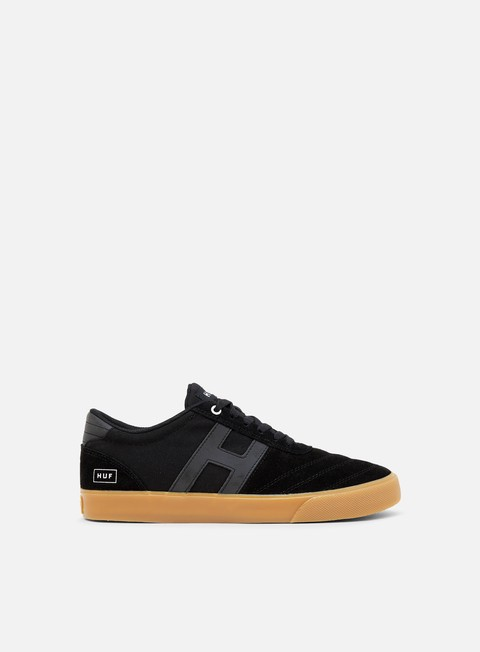 sneakers huf galaxy black black gum