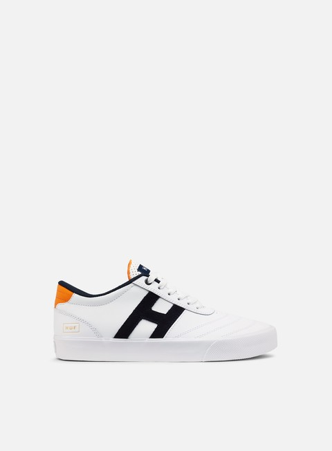 sneakers huf galaxy white orange navy
