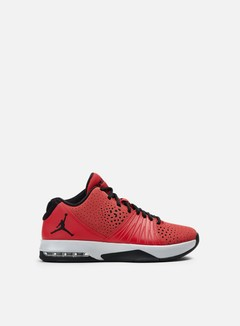 Jordan - 5 AM, Gym Red/Black/Wolf Grey