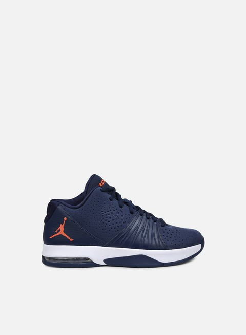 sneakers jordan 5 am midnight navy infrared 23 white