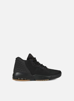 Jordan - Academy, Black/Anthracite/Gum Medium Brown