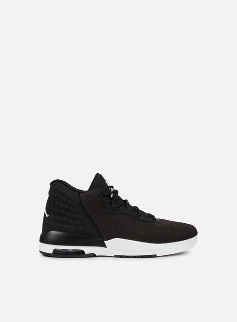 sneakers jordan academy black white black