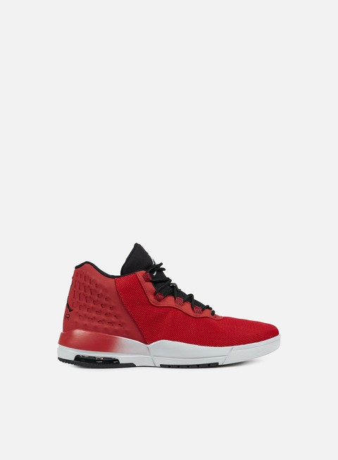 sneakers jordan academy gym red wolf grey black