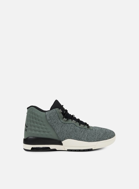 sneakers jordan academy river rock black black