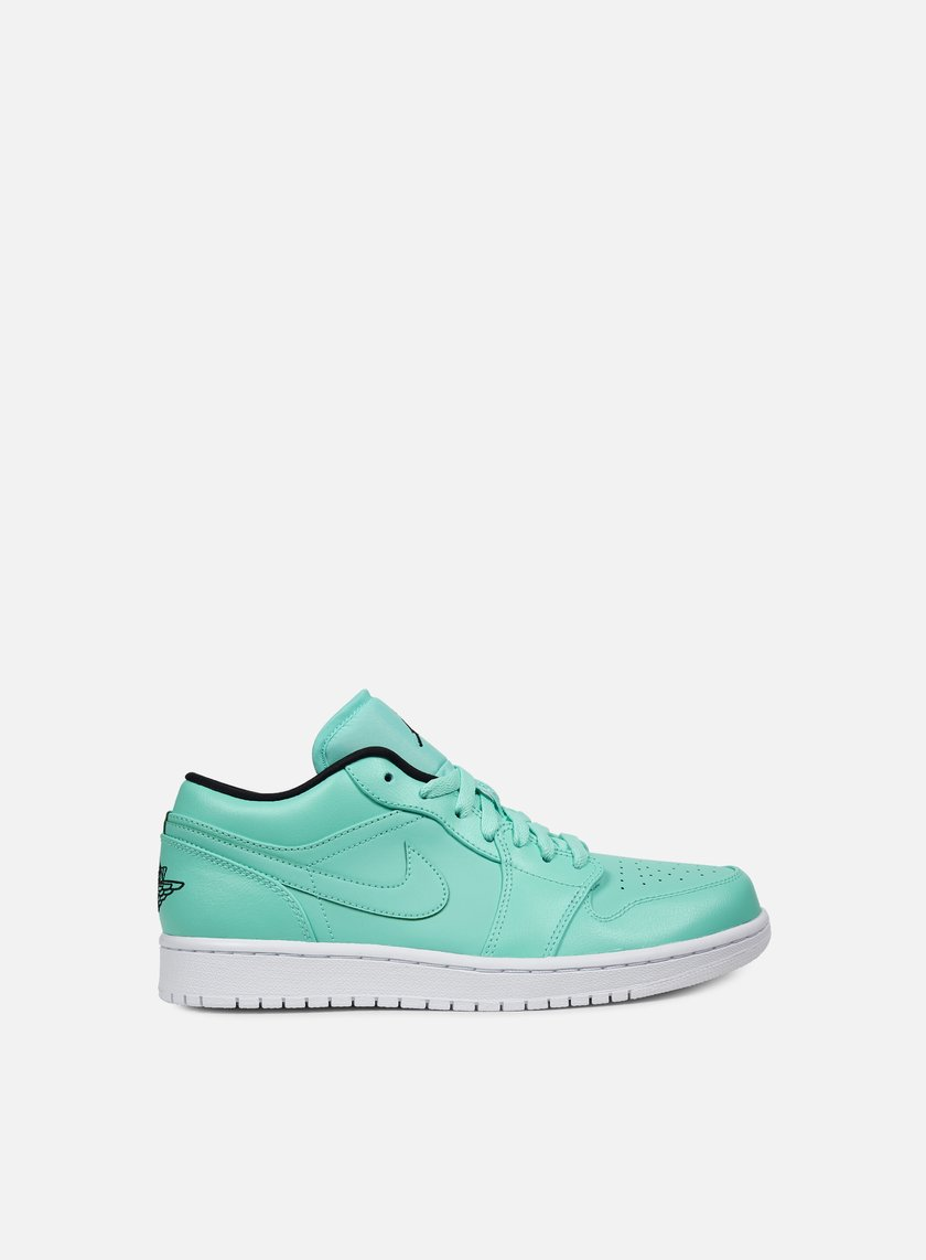 Jordan - Air Jordan 1 Low, Hyper Turquoise/Black/White