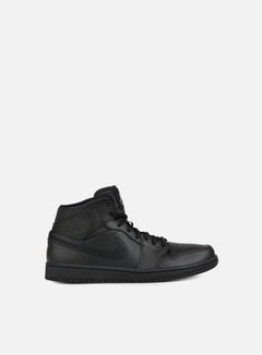 Jordan - Air Jordan 1 Mid, Black/White