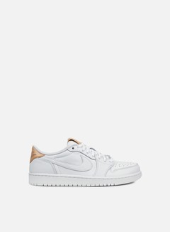 Jordan - Air Jordan 1 Retro Low OG, White/Vachetta Tan/White
