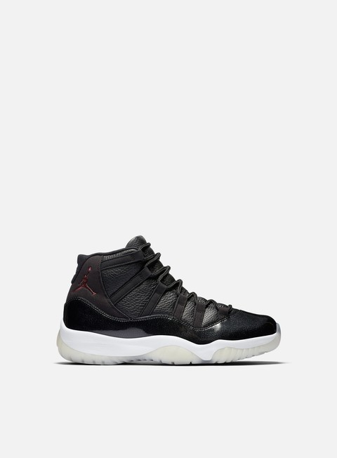 sneakers jordan air jordan 11 retro black gym red white