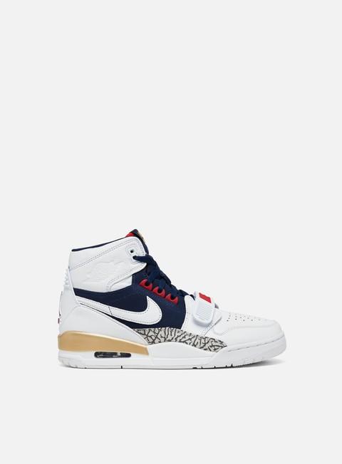 SCARPE NIKE AIR Jordan Legacy Sneakers Alte Nere 40 Nuove