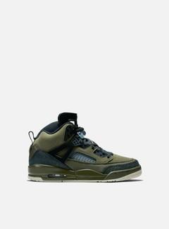 Jordan - Air Jordan Spizike, Olive Canvas/Black/Light Bone/Cone