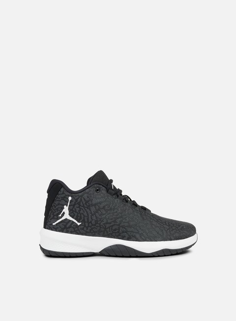 sneakers jordan b fly anthracite white black
