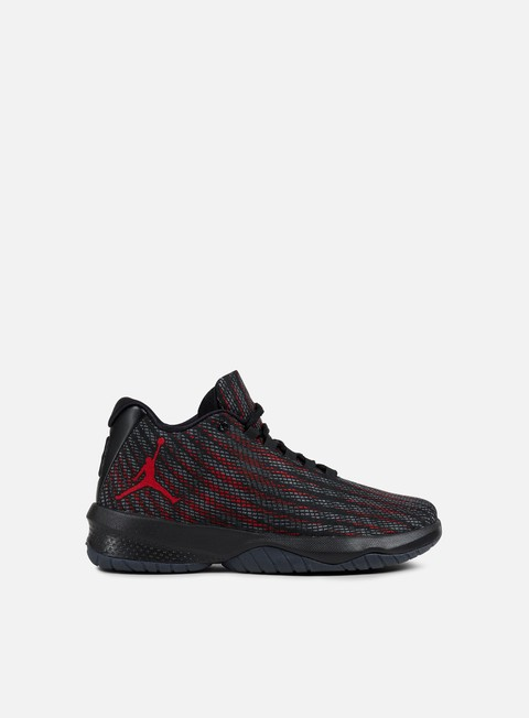 sneakers jordan b fly black gym red