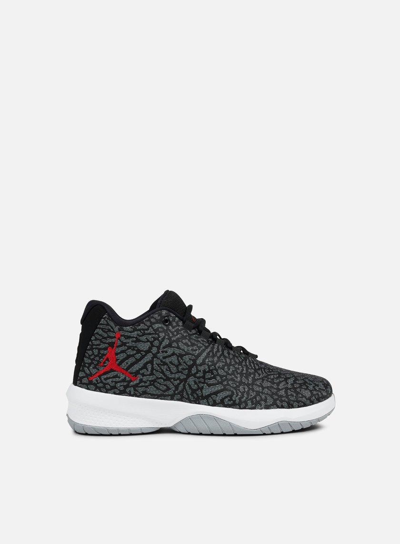 Jordan - B. Fly, Wolf Grey/Gym Red/Black