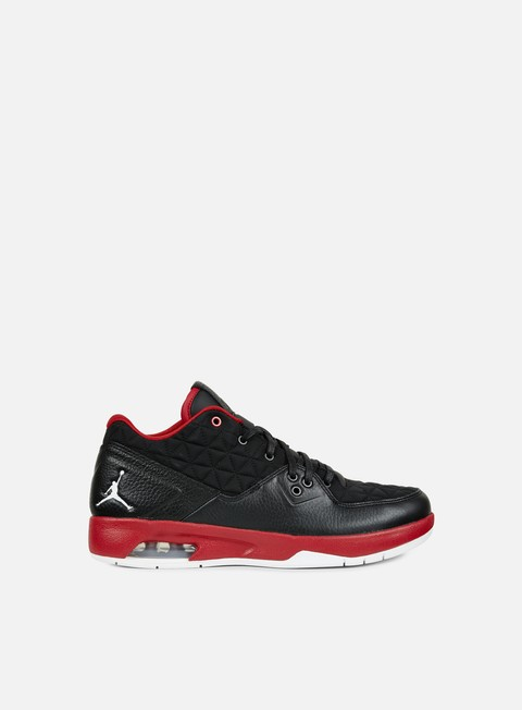 sneakers jordan clutch black white gym red