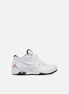 Jordan - Clutch, White/Gym Red/Black