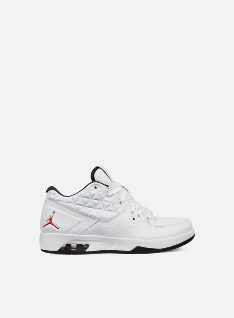 sneakers jordan clutch white gym red black