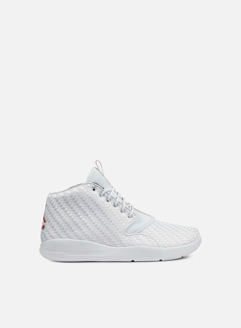 sneakers jordan eclipse chukka white gym red