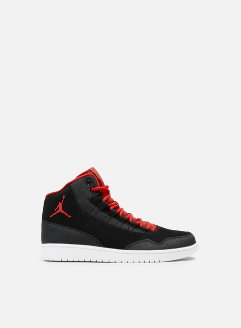 sneakers jordan executive black gym red gym red