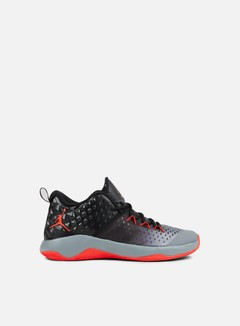 Jordan - Extra Fly, Cool Grey/Max Orange 1