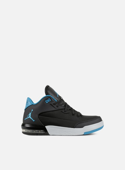 sneakers jordan flight origin 3 black blue lagoon pure platinum