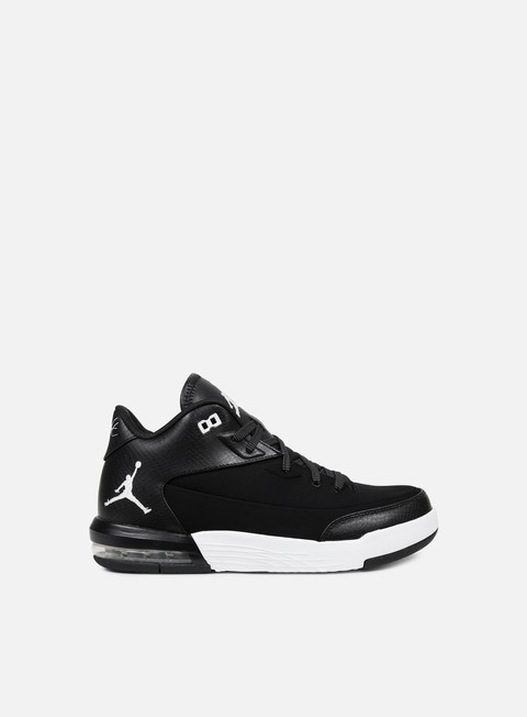 sneakers jordan flight origin 3 black white white