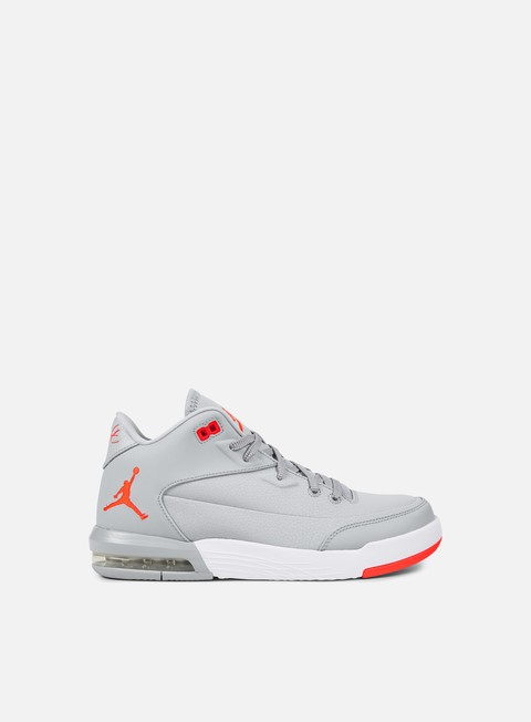 sneakers jordan flight origin 3 wolf grey infrared23 white