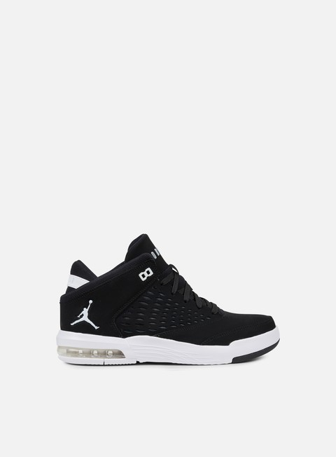 sneakers jordan flight origin 4 black white gym red