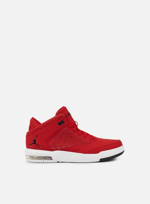 sneakers jordan flight origin 4 gym red black pure platinum