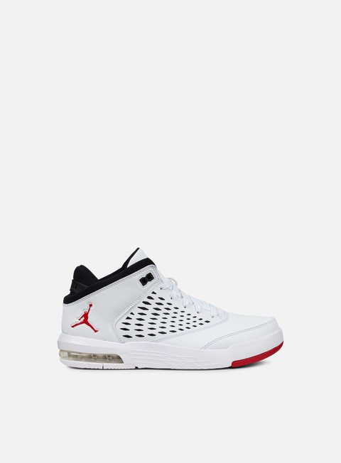 sneakers jordan flight origin 4 white gym red black