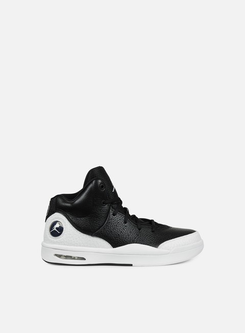 sneakers jordan flight tradition black white