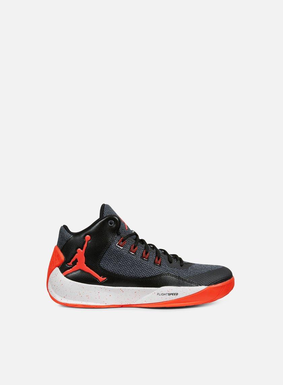 Jordan - Rising High 2, Dark Grey/Infrared23/Black