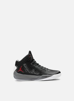 Jordan - Rising High, Black/Gym Red/Cool Grey