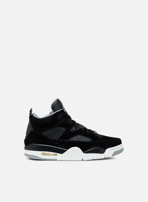 sneakers jordan son of mars low black white particle grey