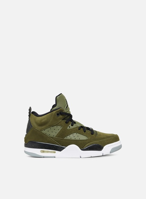 sneakers jordan son of mars low olive canvas black white