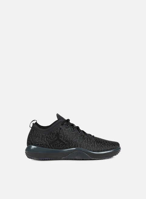 sneakers jordan trainer 1 low black black anthracite