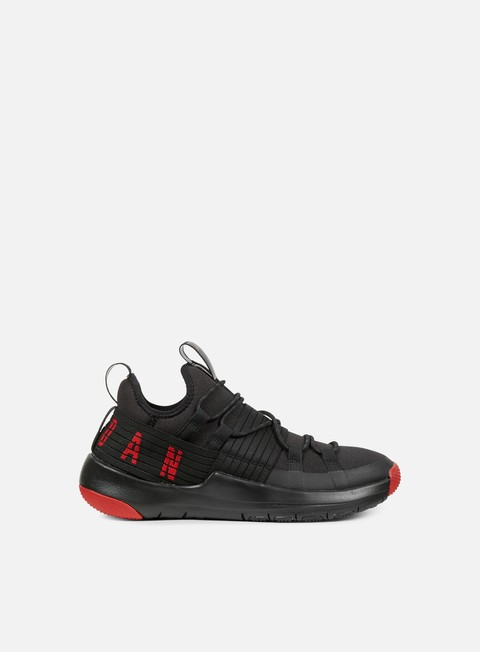 sneakers jordan trainer pro black gym red