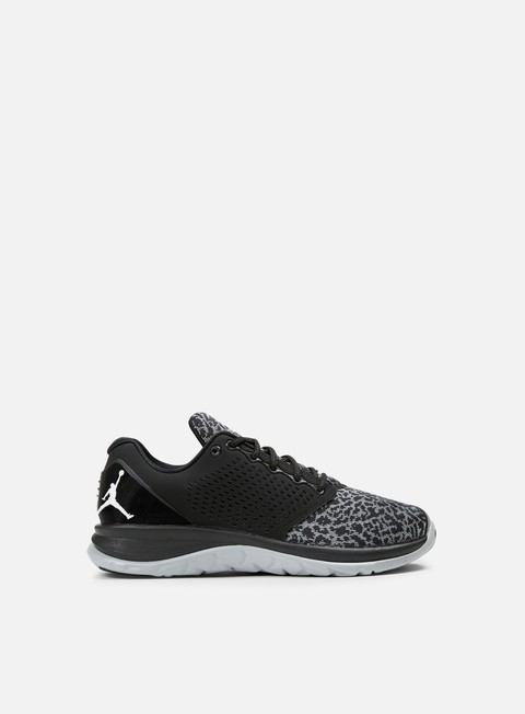 sneakers jordan trainer st black white wolf grey