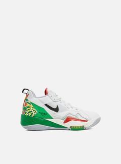 Jordan - Zoom 92, Summit White/Black/Lucky Green/Track Red