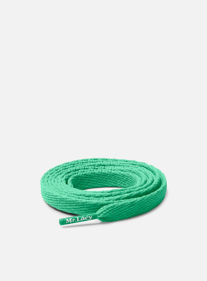Mr Lacy - Flatties Laces, Kelly Green