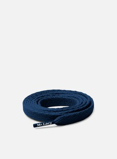 Mr Lacy - Flatties Laces, Navy 1