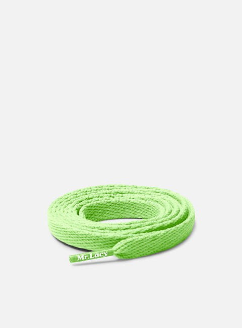 sneakers mr lacy flatties laces neon green