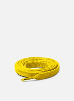 Mr Lacy - Flatties Laces, Yellow 1