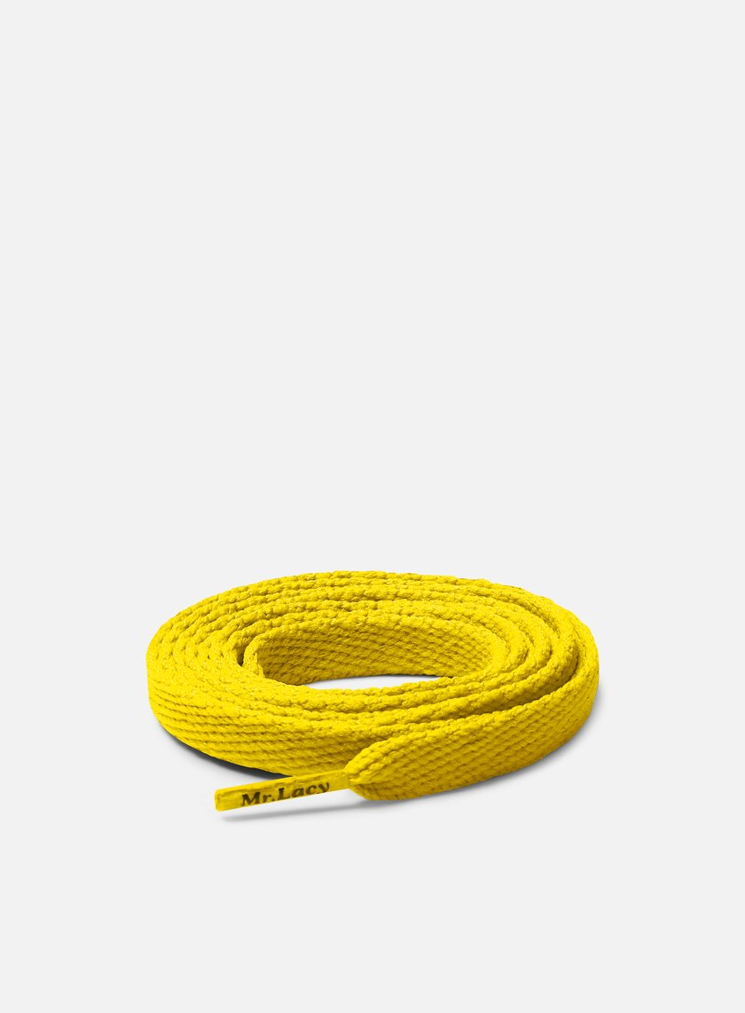 Mr Lacy - Flatties Laces, Yellow
