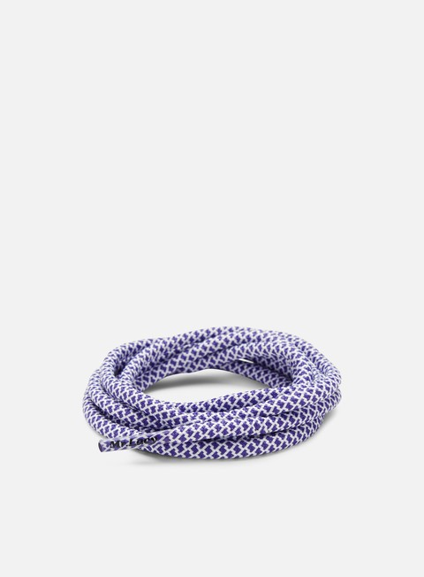 sneakers mr lacy ropies laces violet white