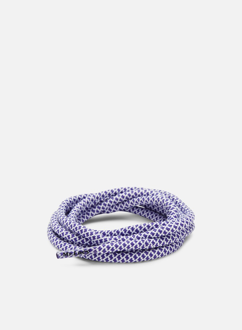 Mr Lacy - Ropies Laces, Violet/White